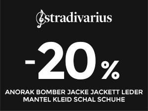 Stradivarius - 20% Rabatt