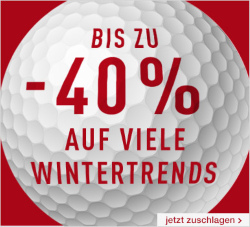 Golf House 40% Rabatt