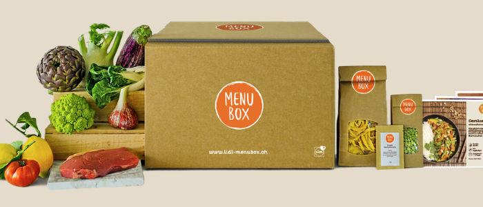 LIDL Menu Box