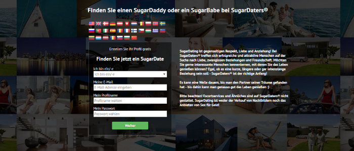 Sugardaters Gutschein
