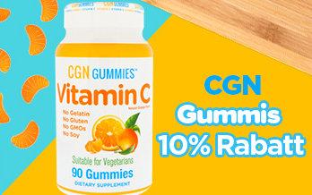 CGN Gummies 10% Rabatt bei iHerb
