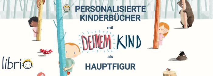 Personalisierte Kinderbücher mit deinem Kind bei Librio