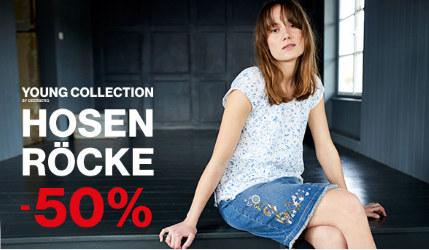 Deerberg Sale: 50% Rabatt auf Hosen und Röcke
