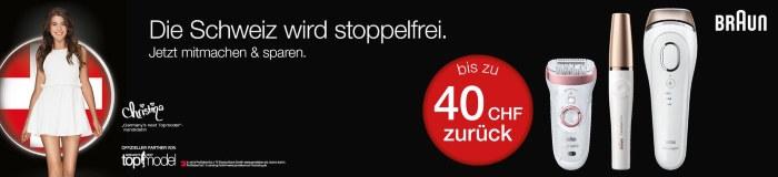 CHF 40.- Casjback bei Nettoshop.ch