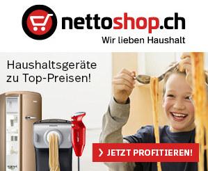 nettoshop.ch Gutschein