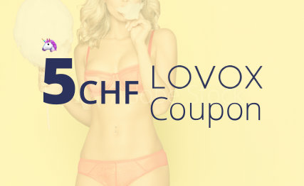 CHF 5.- LOVOX Coupon
