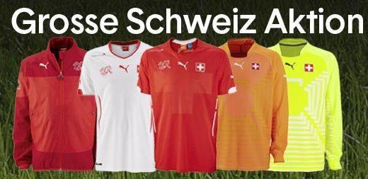 Grosse Schweiz Aktion bei Natitrikot.ch
