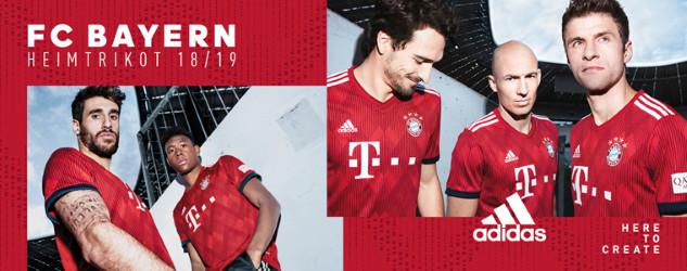 FC Bayern Trikots