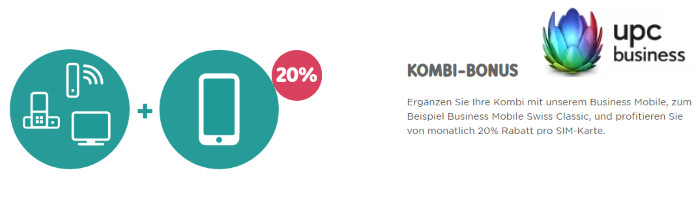 Kombi Bonus 20% Rabatt