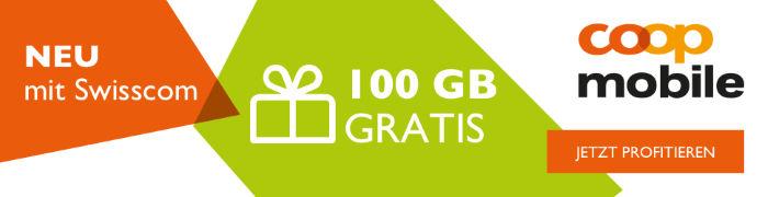 100GB gratis bei Swisscom