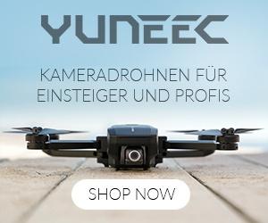 Kameradrohnen für Einsteiger und Profis bei Yuneec