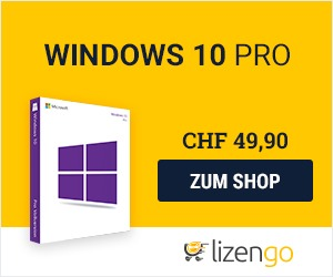 Windows 10 Pro bei Lizengo