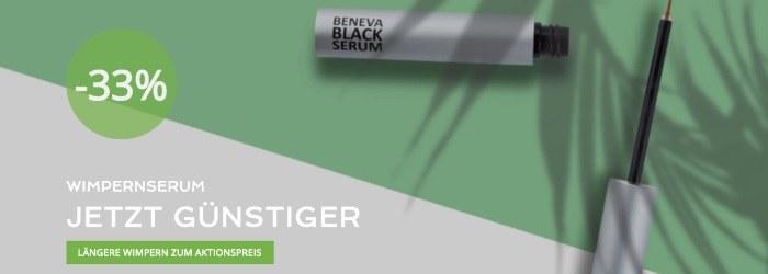 33% Rabatt auf Wimpernserum bei Beneva Black