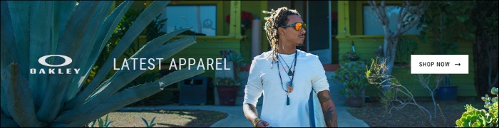 Oakley Lastest Apparel