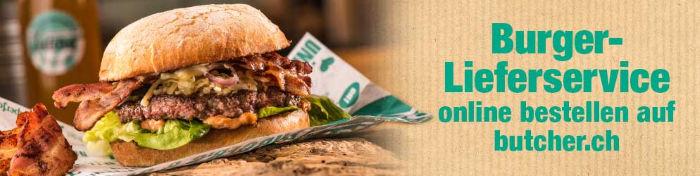 Burger Lieferservice online bestellen auf butcher.ch