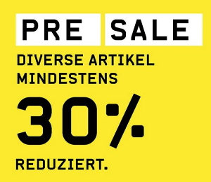 30% auf diverse Artikel im Pre Sale bei Ochsner Sport
